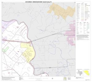 Primary view of object titled '2010 Census County Block Map: Austin County, Block 14'.