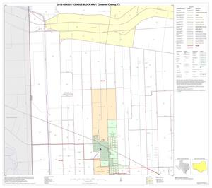 Primary view of object titled '2010 Census County Block Map: Cameron County, Block 13'.