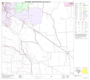 Primary view of object titled '2010 Census County Block Map: Lamar County, Block 18'.