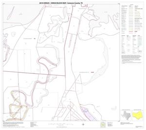 Primary view of object titled '2010 Census County Block Map: Cameron County, Block 28'.