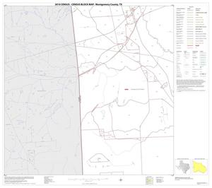 Primary view of object titled '2010 Census County Block Map: Montgomery County, Block 18'.