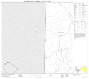 Primary view of object titled '2010 Census County Block Map: Val Verde County, Block 41'.