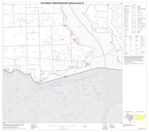 Primary view of object titled '2010 Census County Block Map: Kleberg County, Block 15'.