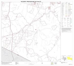 Primary view of object titled '2010 Census County Block Map: Kerr County, Block 36'.