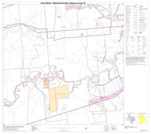 Primary view of object titled '2010 Census County Block Map: Jefferson County, Block 18'.