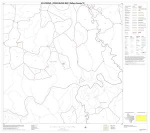 Primary view of object titled '2010 Census County Block Map: Oldham County, Block 8'.