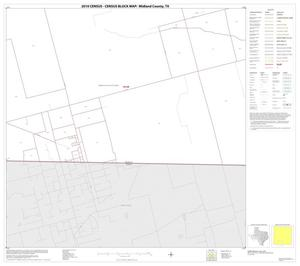 Primary view of object titled '2010 Census County Block Map: Midland County, Block 14'.