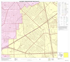 Primary view of object titled '2010 Census County Block Map: Dallas County, Block 34'.