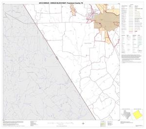 Primary view of object titled '2010 Census County Block Map: Freestone County, Block 12'.