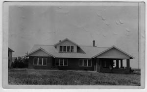 Primary view of object titled '[O.A.Peterson Farm House in the Justin-Roanoke area]'.