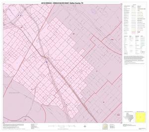 Primary view of object titled '2010 Census County Block Map: Dallas County, Inset I04'.
