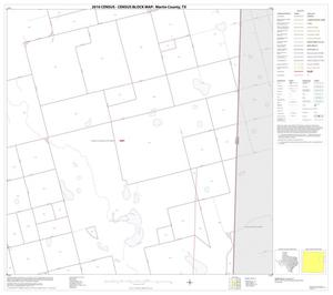 Primary view of object titled '2010 Census County Block Map: Martin County, Block 8'.