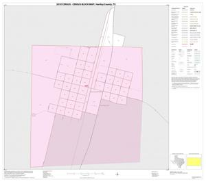Primary view of object titled '2010 Census County Block Map: Hartley County, Inset C01'.