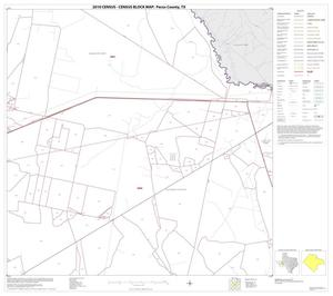 Primary view of object titled '2010 Census County Block Map: Pecos County, Block 18'.