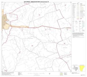 Primary view of object titled '2010 Census County Block Map: Burnet County, Block 13'.