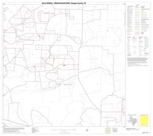 Primary view of object titled '2010 Census County Block Map: Reagan County, Block 8'.