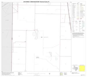 Primary view of object titled '2010 Census County Block Map: Sherman County, Block 9'.