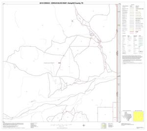Primary view of object titled '2010 Census County Block Map: Hemphill County, Block 8'.