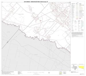 Primary view of object titled '2010 Census County Block Map: Ward County, Block 15'.