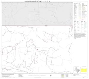 Primary view of object titled '2010 Census County Block Map: Sutton County, Block 2'.