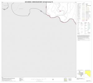 Primary view of object titled '2010 Census County Block Map: Val Verde County, Block 51'.