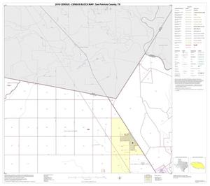 Primary view of object titled '2010 Census County Block Map: San Patricio County, Block 3'.