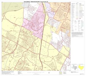 Primary view of object titled '2010 Census County Block Map: Travis County, Block 17'.