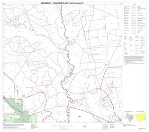 Primary view of object titled '2010 Census County Block Map: Hardin County, Block 9'.