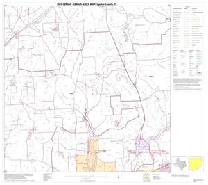 Primary view of object titled '2010 Census County Block Map: Upshur County, Block 10'.
