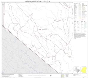 Primary view of object titled '2010 Census County Block Map: Terrell County, Block 13'.