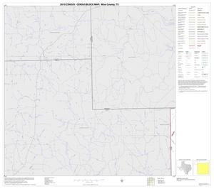 Primary view of object titled '2010 Census County Block Map: Wise County, Block 1'.