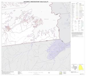 Primary view of object titled '2010 Census County Block Map: Sabine County, Block 11'.