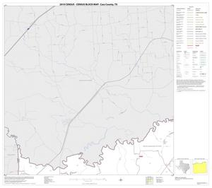 Primary view of object titled '2010 Census County Block Map: Cass County, Block 1'.