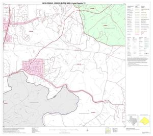 Primary view of object titled '2010 Census County Block Map: Comal County, Block 9'.