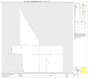 Primary view of object titled '2010 Census County Block Map: Runnels County, Inset C01'.