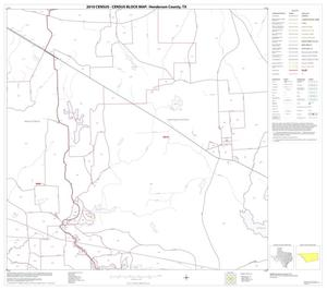 Primary view of object titled '2010 Census County Block Map: Henderson County, Block 22'.