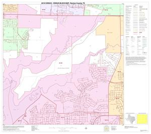 Primary view of object titled '2010 Census County Block Map: Denton County, Block 49'.