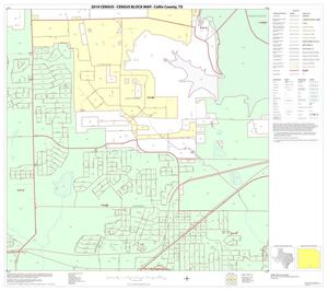 Primary view of object titled '2010 Census County Block Map: Collin County, Block 87'.