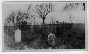 Primary view of [Grave of A.H.Fortenberry. Pollard cemetery, NW of Bolivar]