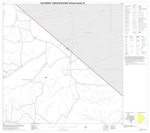 Primary view of object titled '2010 Census County Block Map: Brewster County, Block 22'.