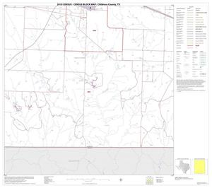 Primary view of object titled '2010 Census County Block Map: Childress County, Block 11'.