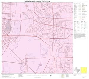 Primary view of object titled '2010 Census County Block Map: Dallas County, Block 42'.