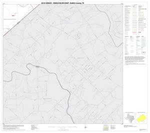 Primary view of object titled '2010 Census County Block Map: DeWitt County, Block 21'.