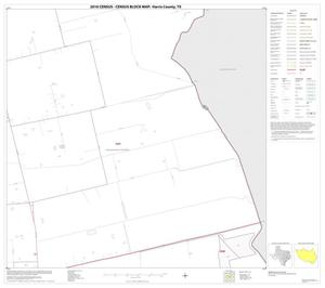 Primary view of object titled '2010 Census County Block Map: Harris County, Block 122'.