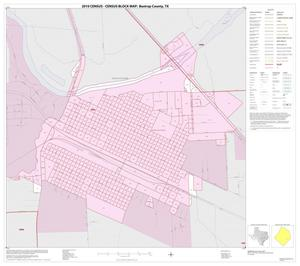 Primary view of object titled '2010 Census County Block Map: Bastrop County, Inset D01'.
