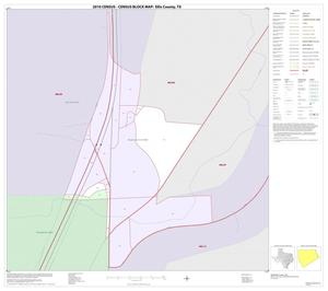 Primary view of object titled '2010 Census County Block Map: Ellis County, Inset A01'.