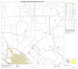 Primary view of object titled '2010 Census County Block Map: Montague County, Block 12'.