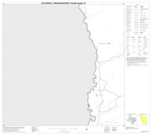 Primary view of object titled '2010 Census County Block Map: Presidio County, Block 25'.