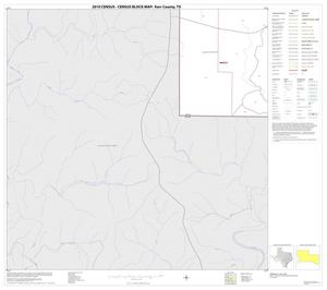Primary view of object titled '2010 Census County Block Map: Kerr County, Block 30'.