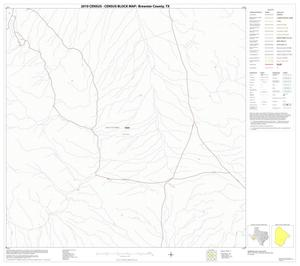 Primary view of object titled '2010 Census County Block Map: Brewster County, Block 77'.